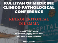 'Retroperitoneal Dilemma' - KOM CPC by Dept. of Surgery