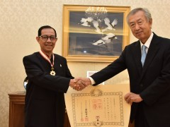 "IIUM Rector Dzulkifli receives ""The Order Of The Rising Sun """