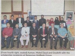 IIUM students get scholarships