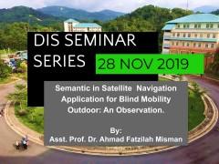DIS Seminar Series 28 NOV 19