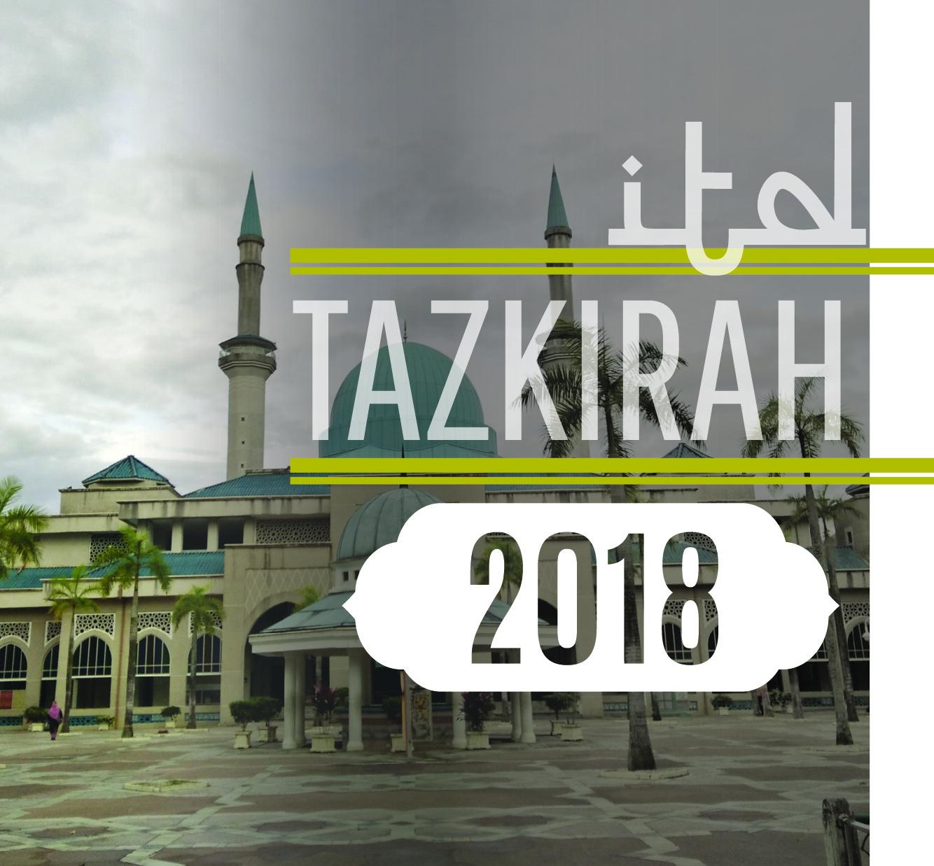 Tazkirah No.3/2018