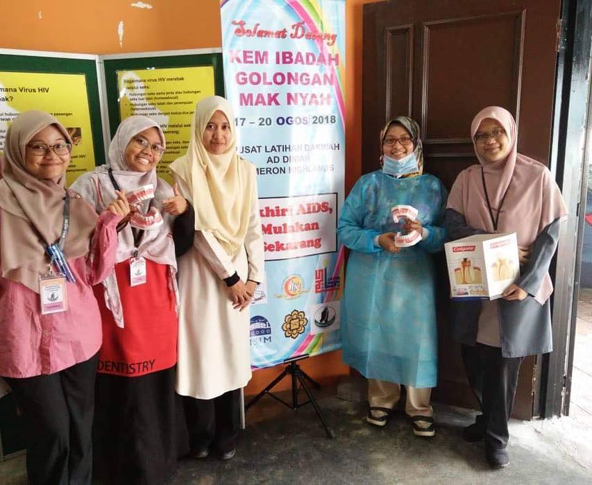KEM HIV/STI TRANSGENDER-STATE LEVEL OF PAHANG 2018 @ IBADAH CAMP FOR TRANSGENDER GROUP