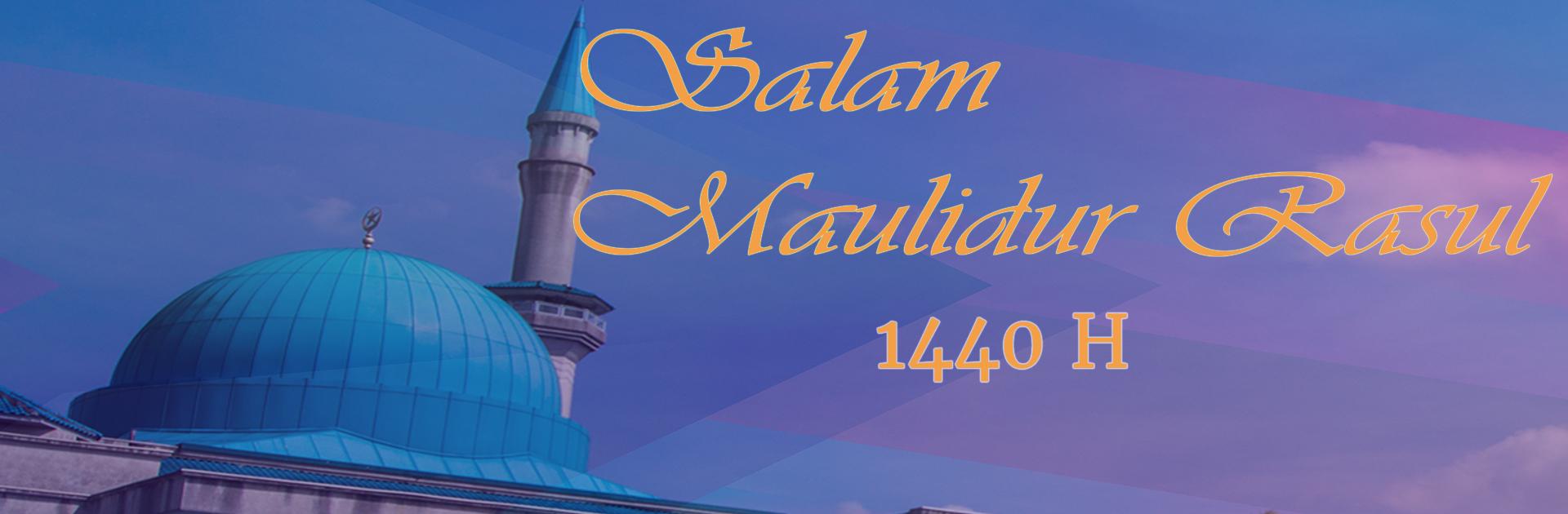Salam Maulidur Rasul 1440h