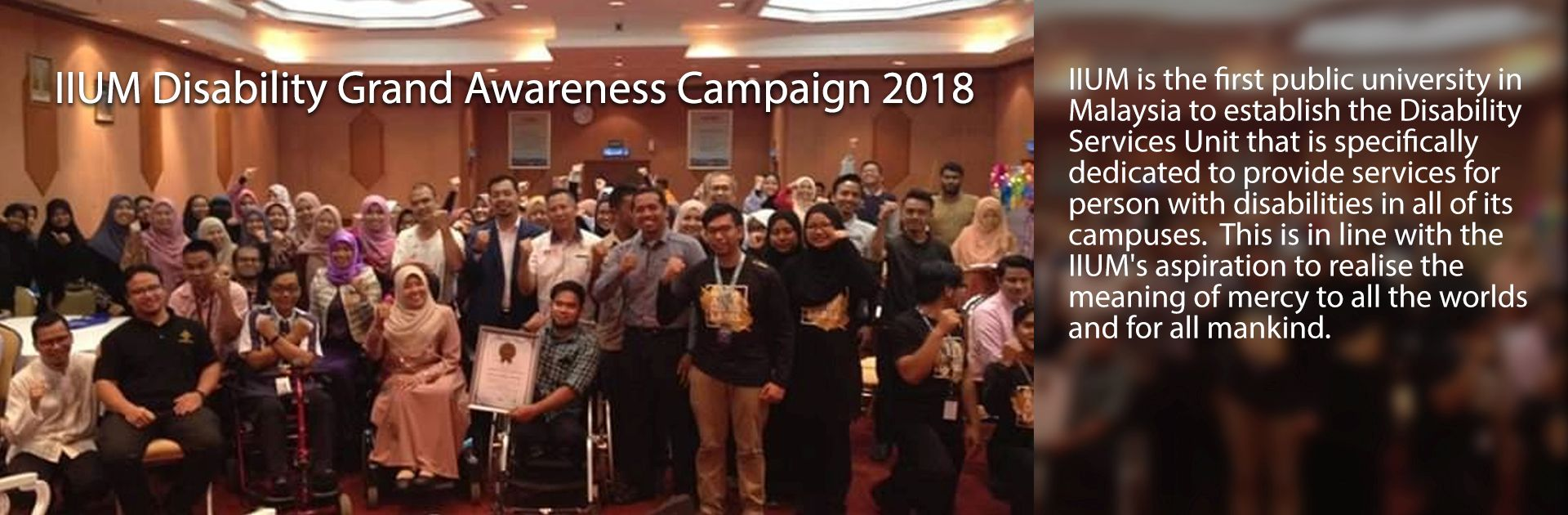 Disability Awareness Campaign 2018