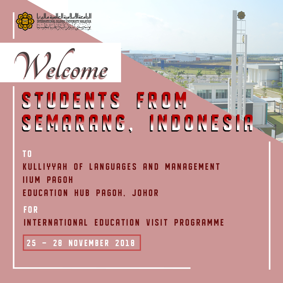 Welcoming the International Education Visit Program from Indonesia