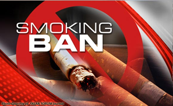 Kudos for championing smoking ban