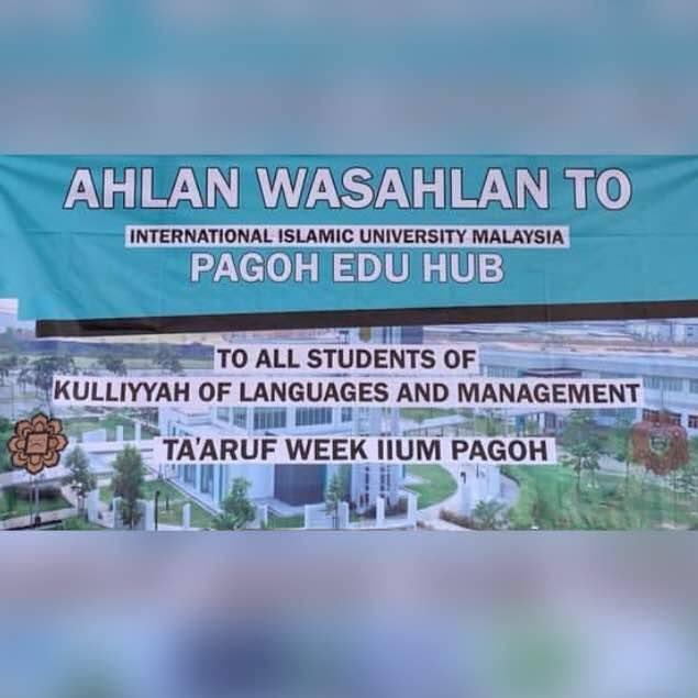Ta'aruf week for semester 2, 2018/2019