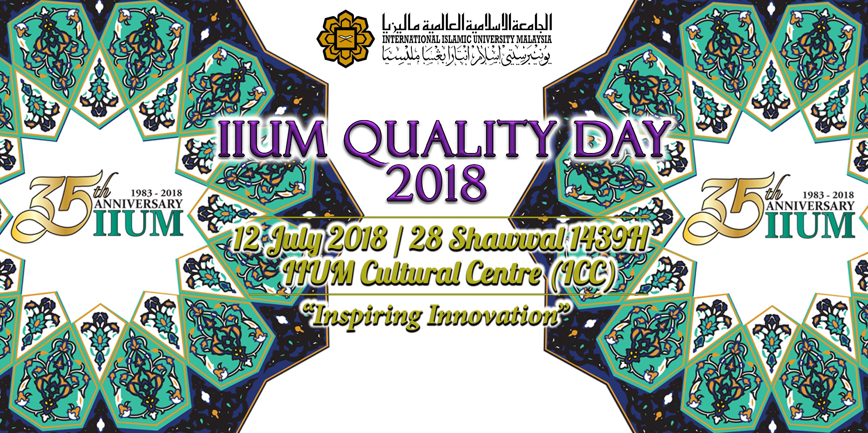 IIUM Quality Day 2018