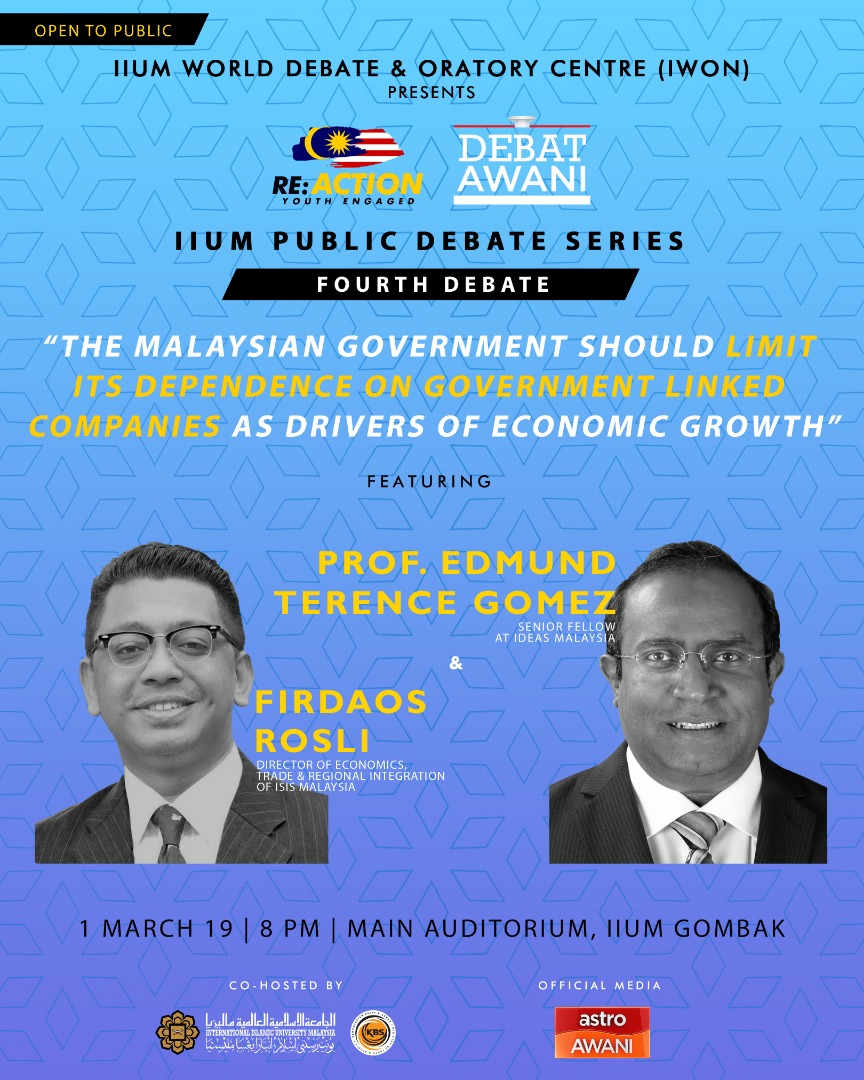 Re:Action Youth Engaged, 4th IIUM Public Debate Series