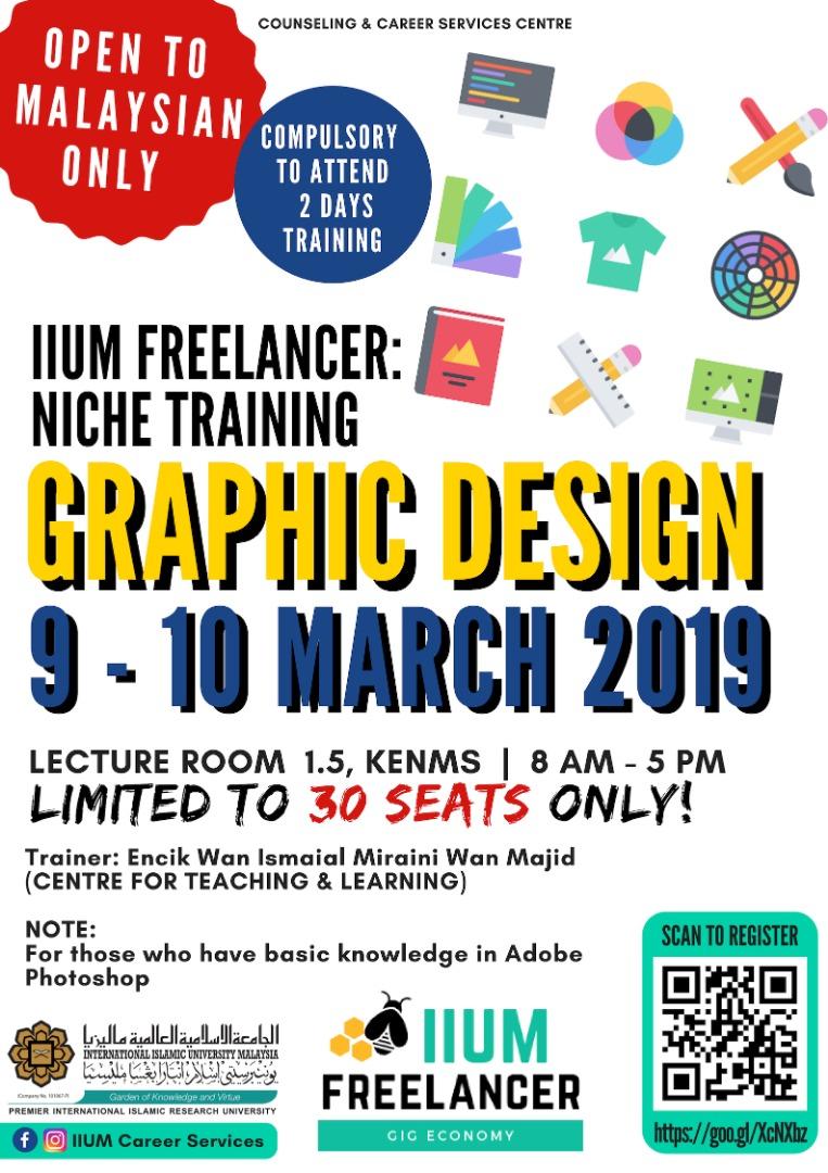 GIG Economy : Workshop on Graphic Design (Basic)