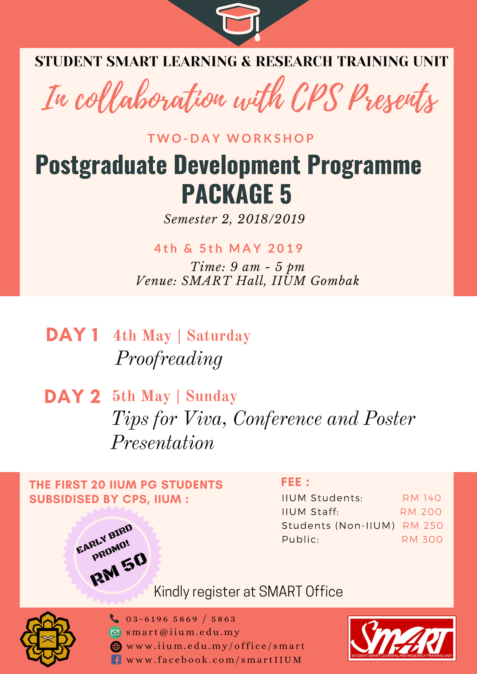 WORKSHOP : POSTGRADUATE DEVELOPMENT PROGRAMME PACKAGE 5