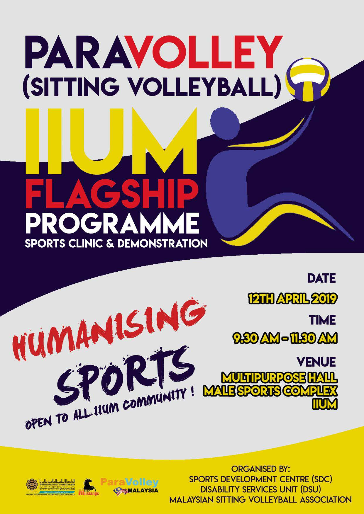 PARAVOLLEY SPORTS CLINIC AND DEMONSTRATION