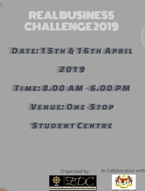 Real Business Challenge COHORT II 2019