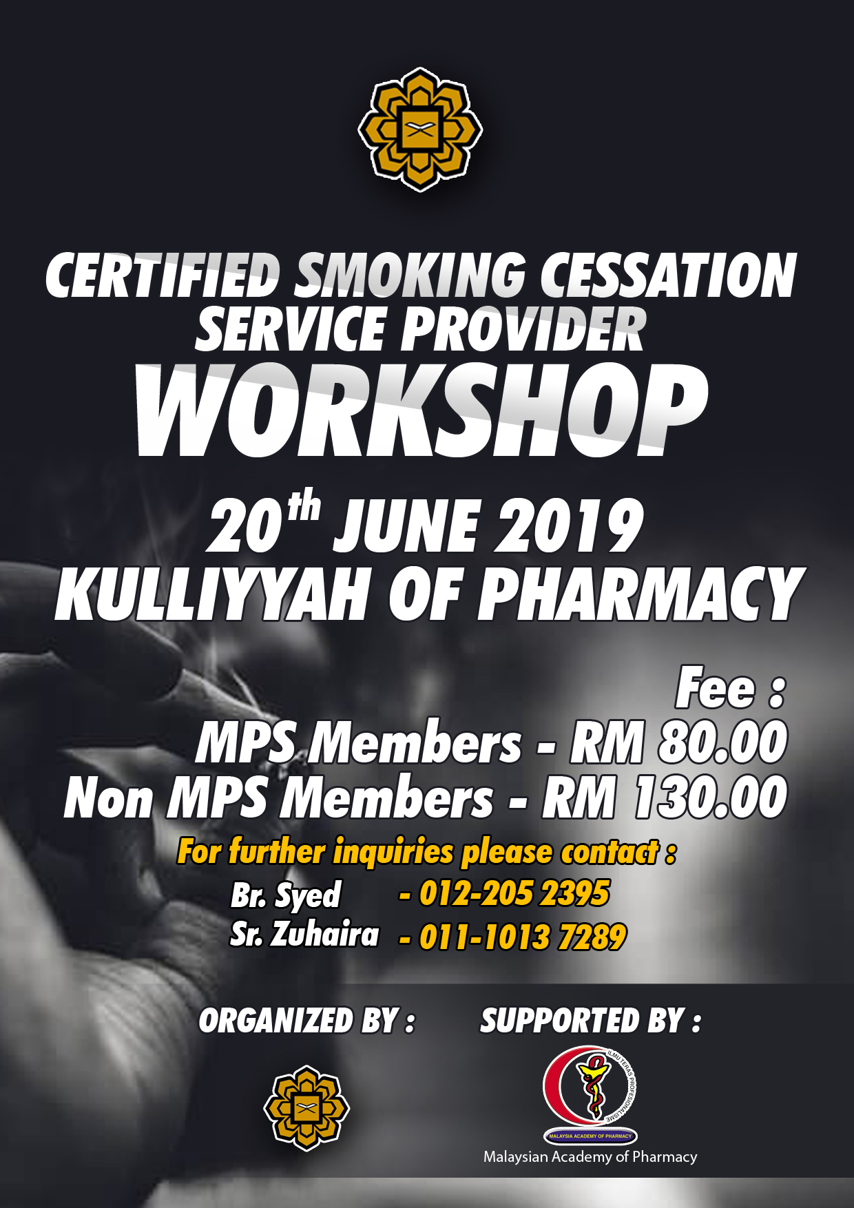 Certified Smoking Cessation Service Provider (CSCSP) Workshop