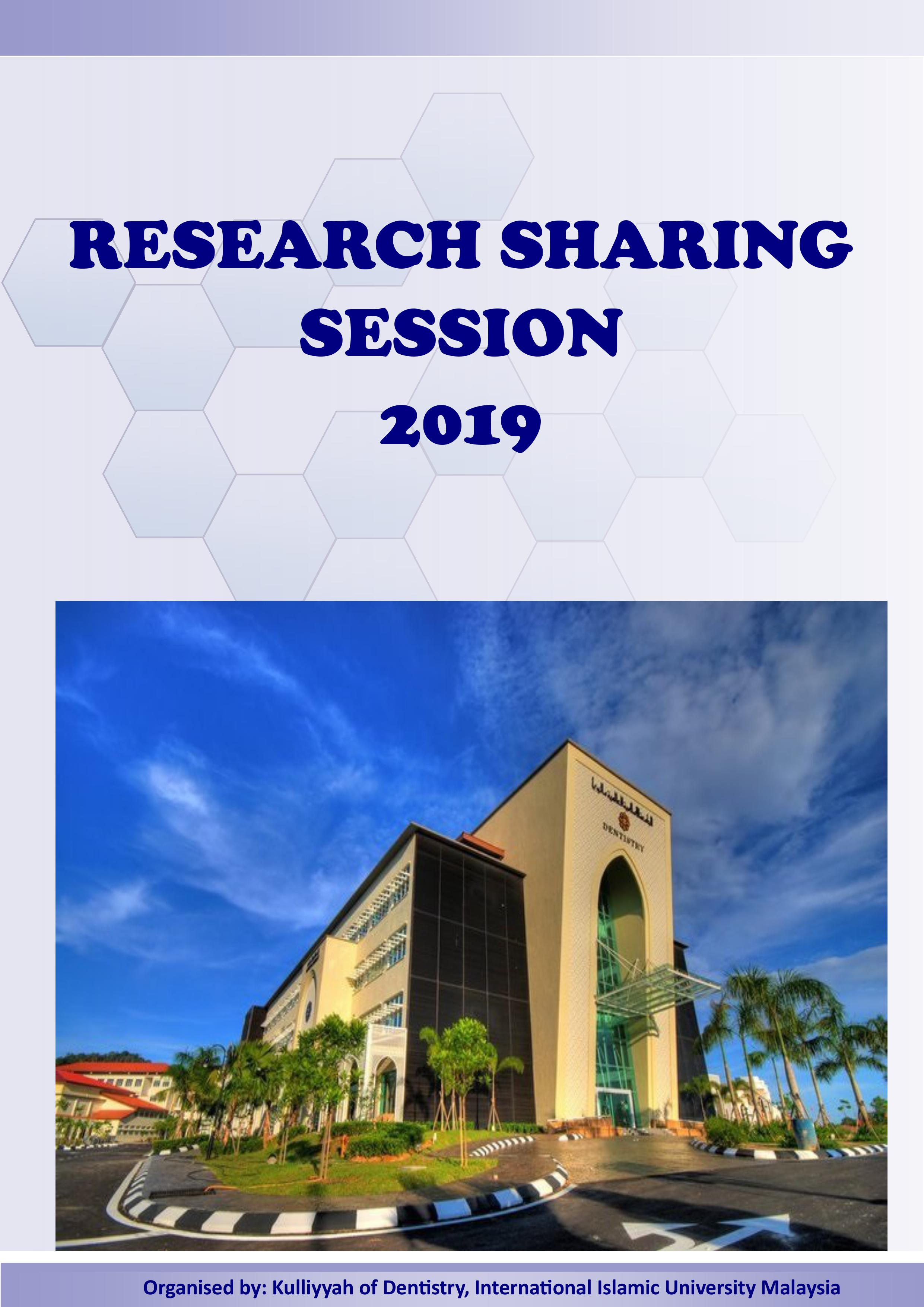 KOD Research Sharing Session 2019