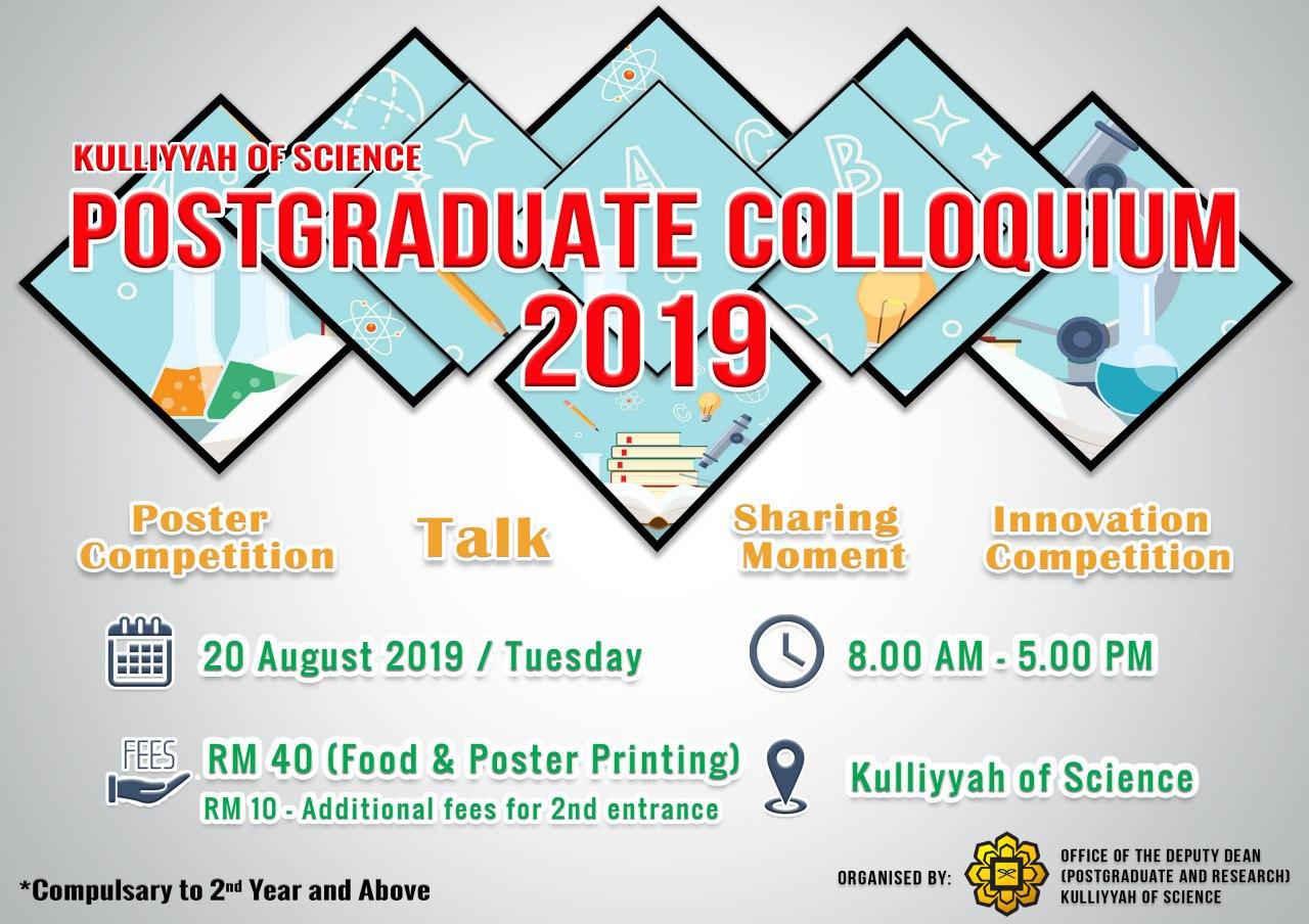 Postgraduate Colloquium