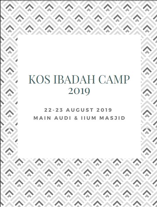 KOS Ibadah Camp 2019