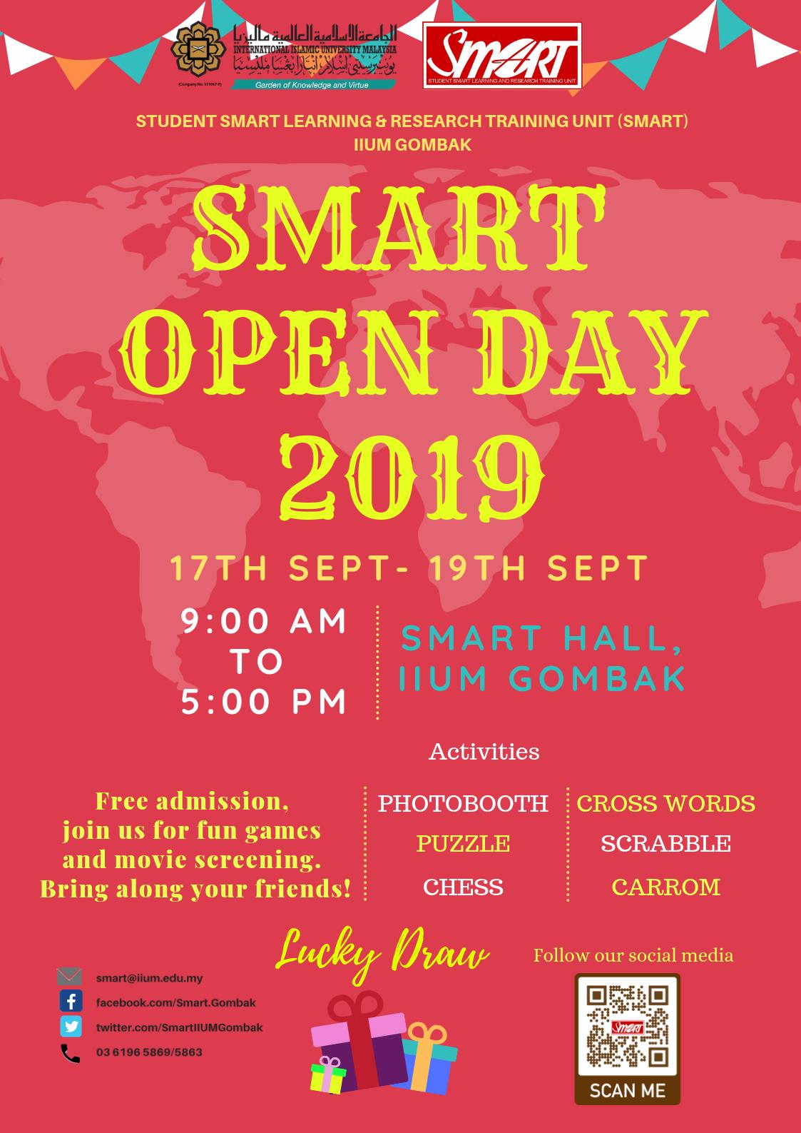 OPEN DAY SMART SEM 1, 2019/2020