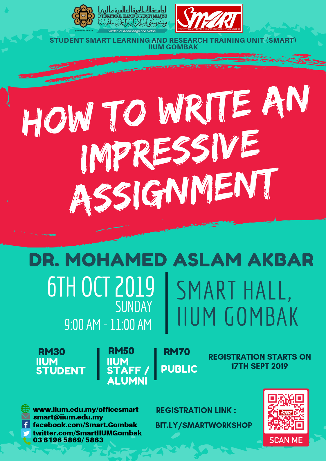 SEM 1, 19/20 - WORKSHOP - HOW TO WRITE AN IMPRESSIVE ASSIGNMENT