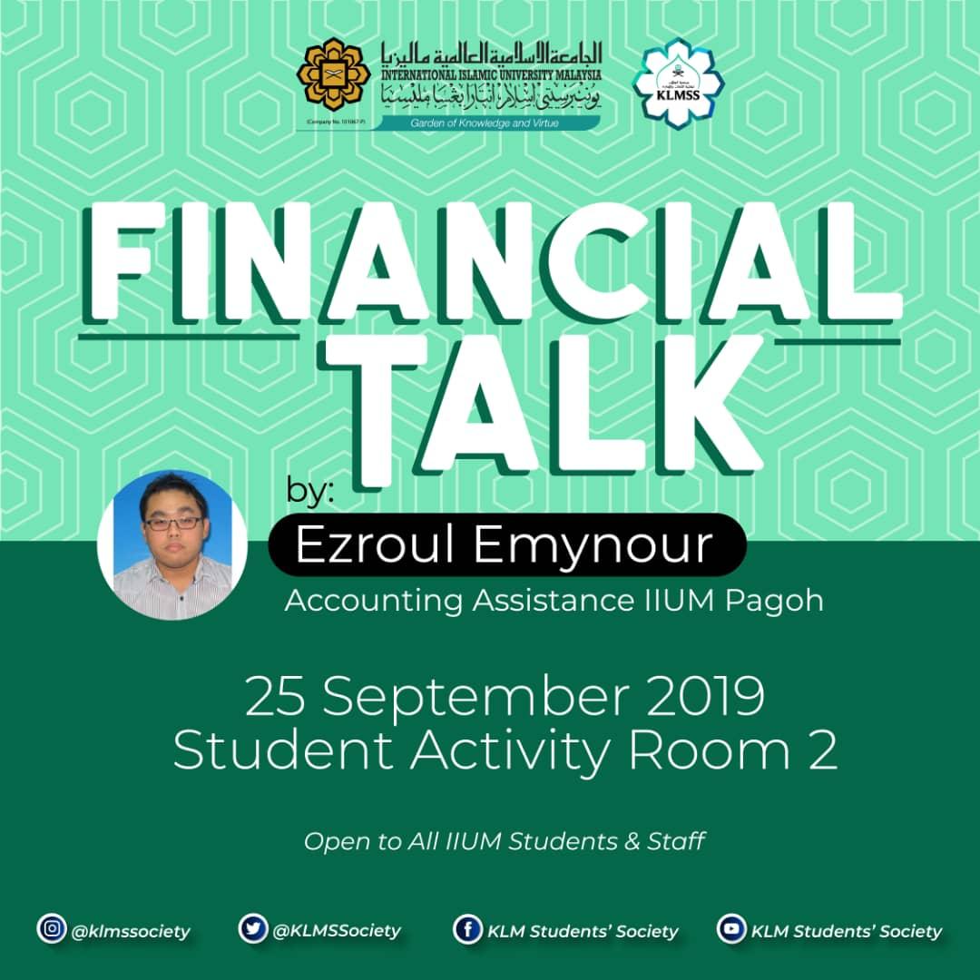 Financial Talk
