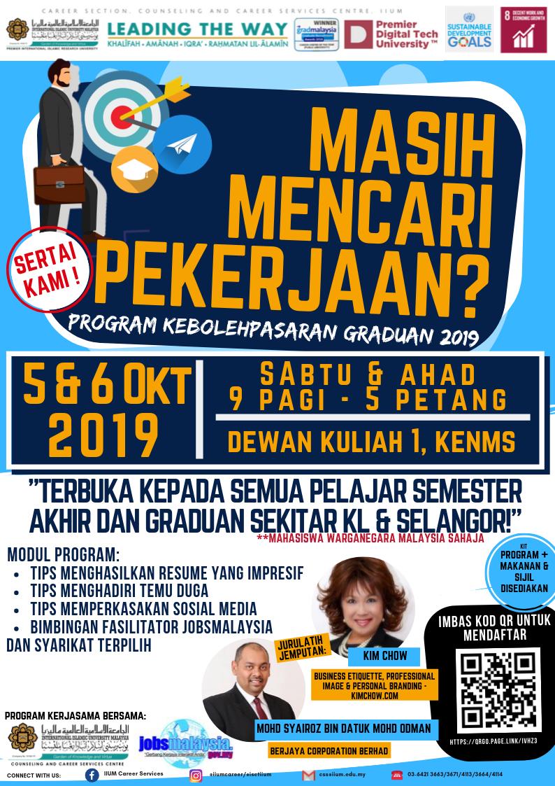 Graduate Employability with JobsMalaysia 2019