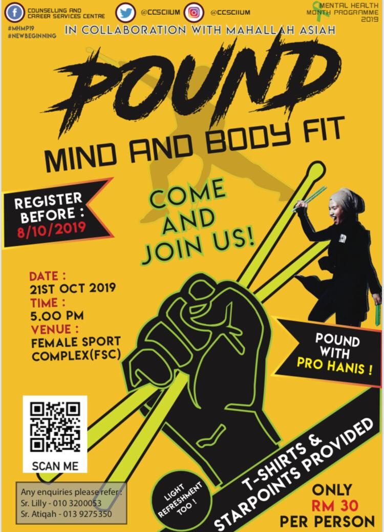 POUND : MY AND BODY FIT