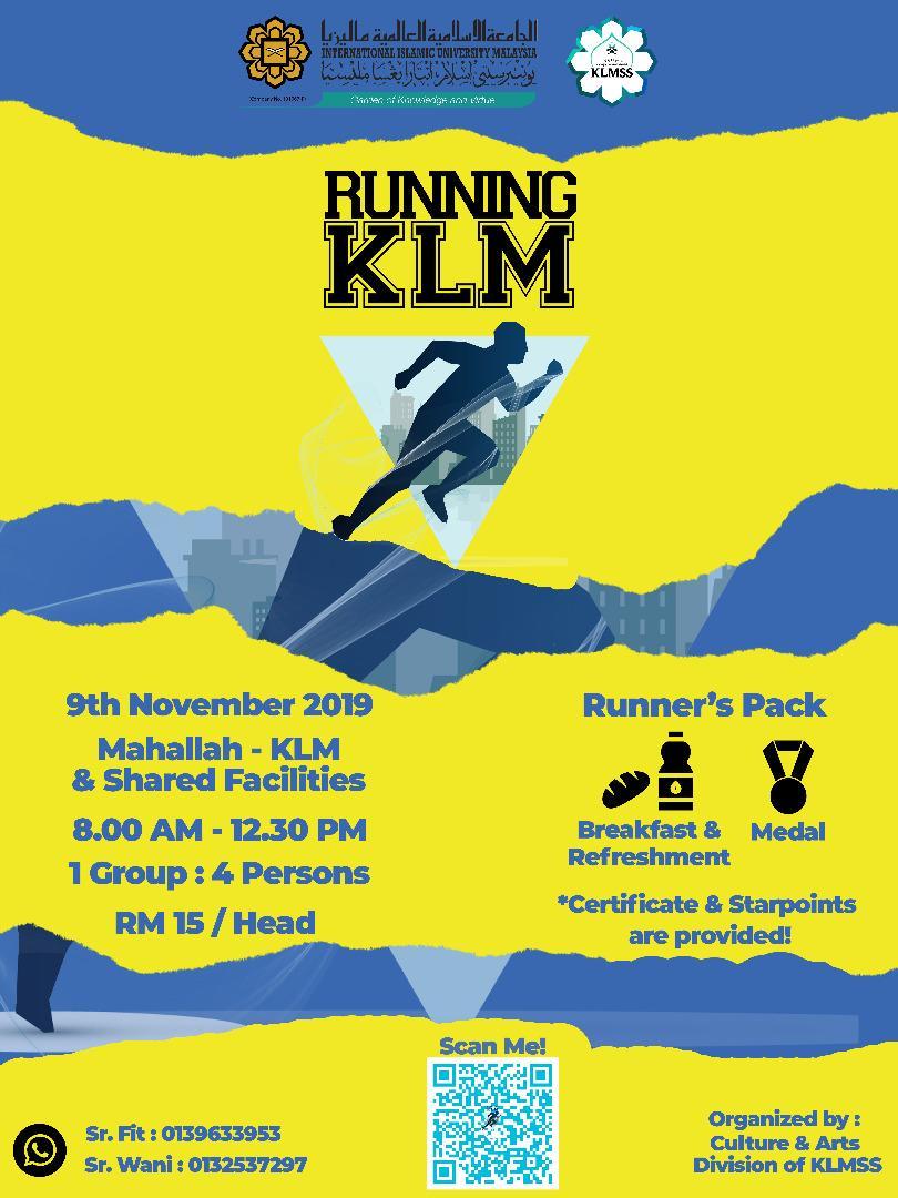 Running KLM