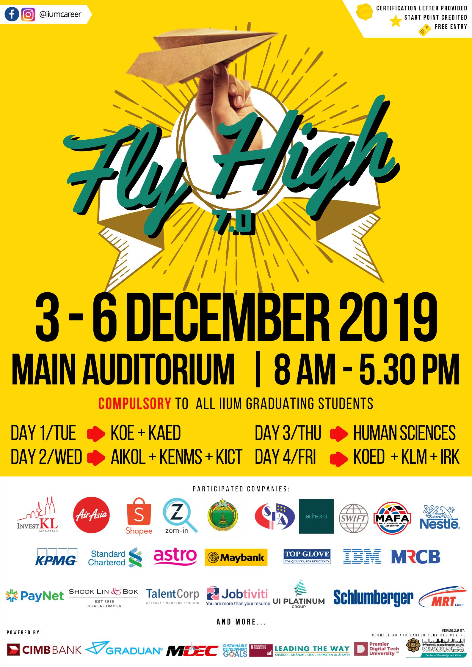 IIUM FLY HIGH 7.0