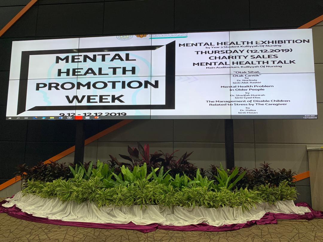 Kulliyyah of Nursing Mental Health Week