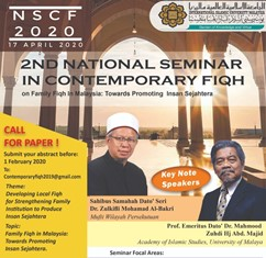 2nd National Seminar in Contemporary Fiqh (NSCF 2020)