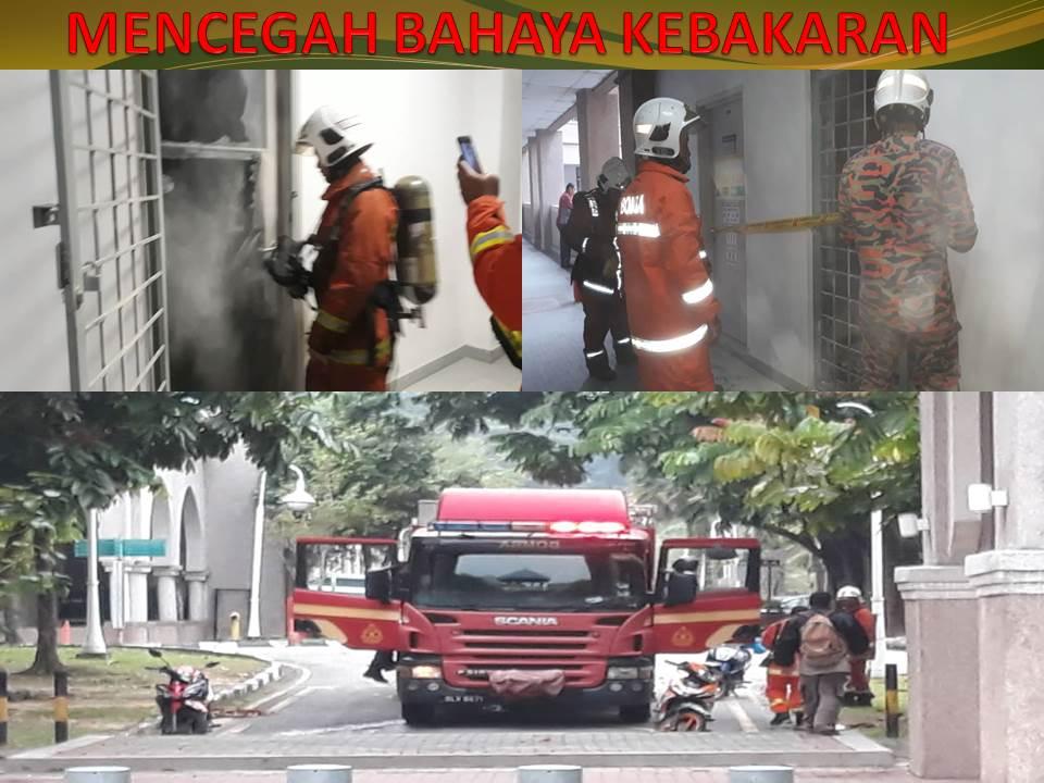 Mencegah Bahaya Kebakaran with BOMBA Pahang
