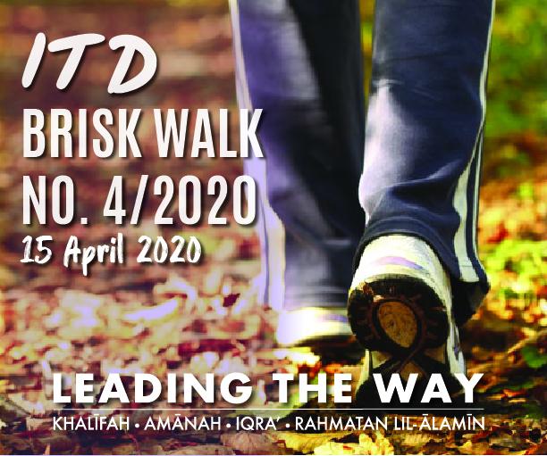 ITD Brisk Walk No.4/2020