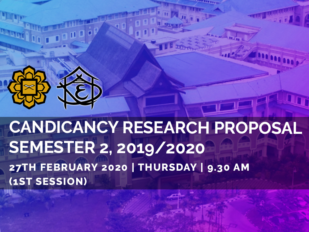 Candidance Research Proposal, Semester 2 2019/2020