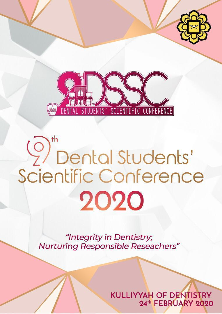 9th Dental Students' Scientific Conference