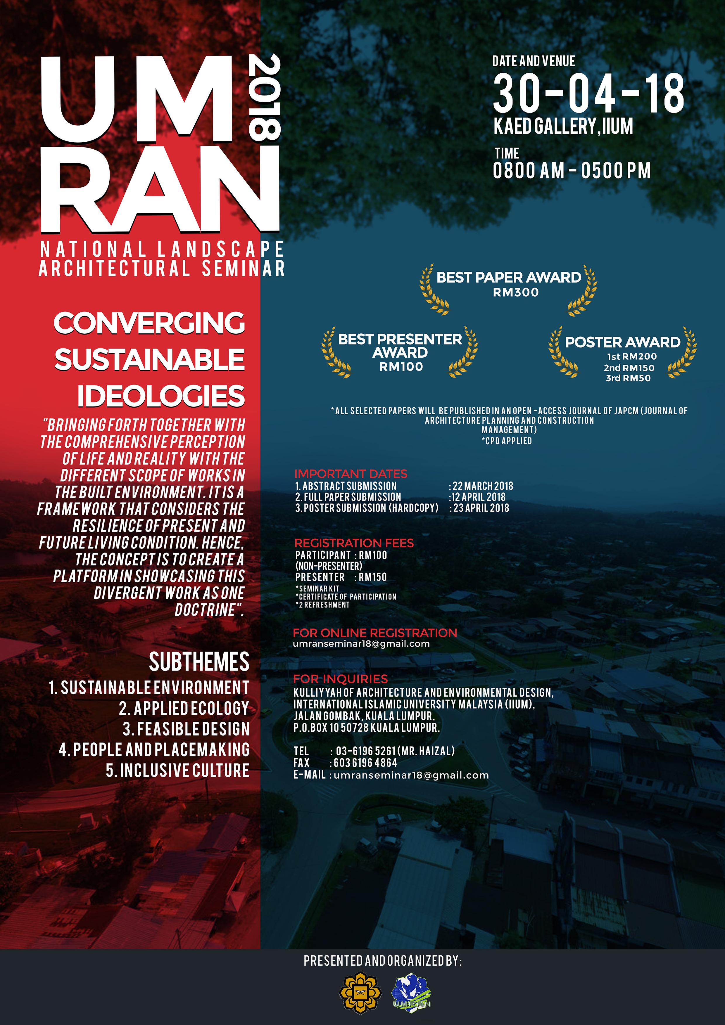Poster of UMRAN 2018
