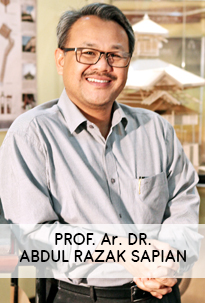 Prof. Ar. Dr. Abdul Razak Sapian