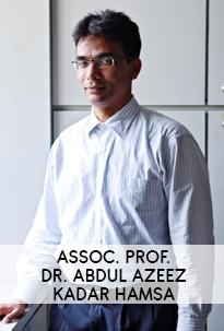 Assoc. Prof. Dr. Abdul Azeez Kadar Hamsa