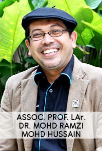Assoc. Prof. LAr. Dr. Mohd Ramzi Mohd Hussain