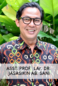Asst. Prof. LAr. Dr. Jasasikin Ab Sani