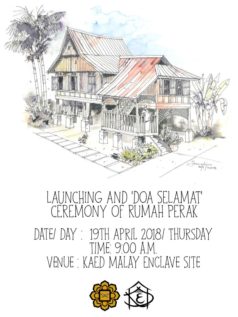 Launching & Doa Selamat Ceremony of Rumah Perak