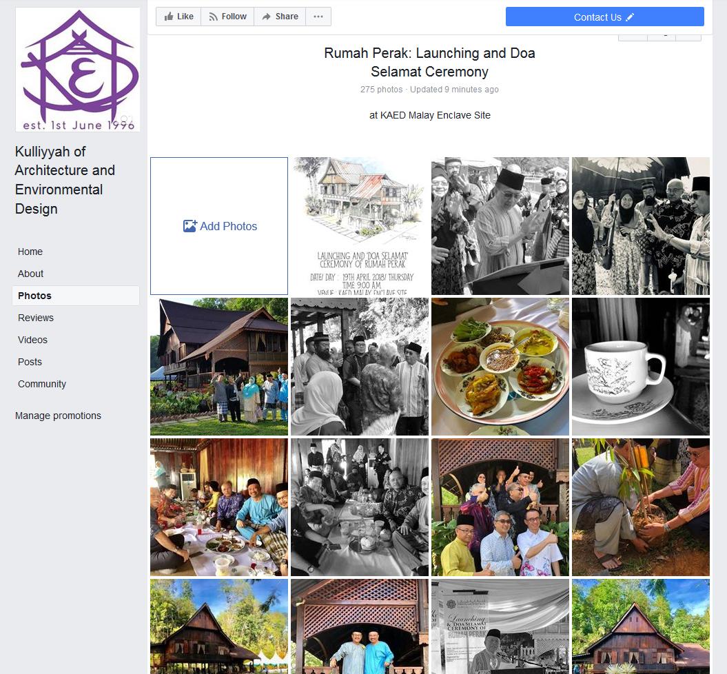 FB KAED - Rumah Perak