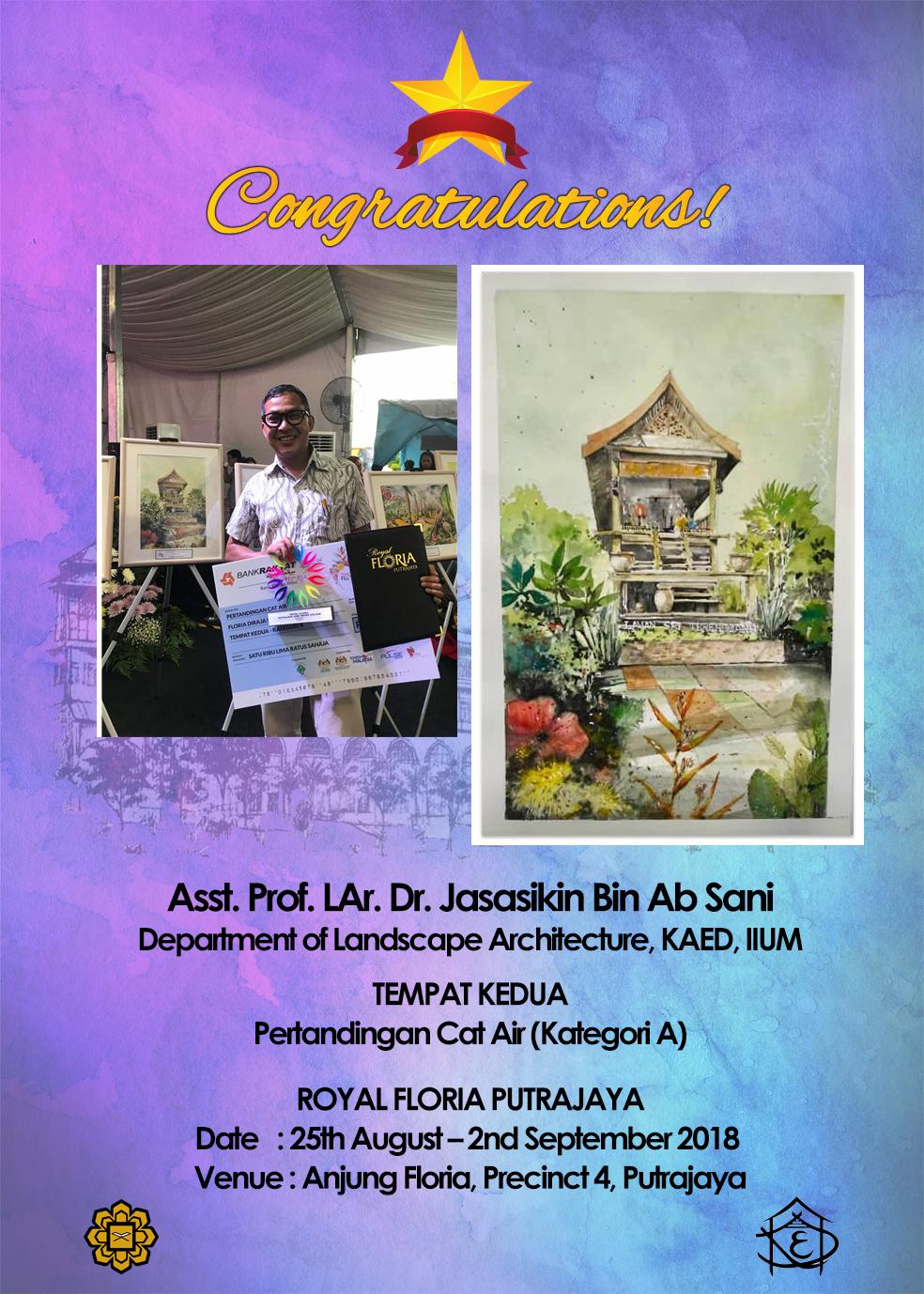 Congratulations Dr. Jasa