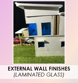 Wall - Laminated Glass