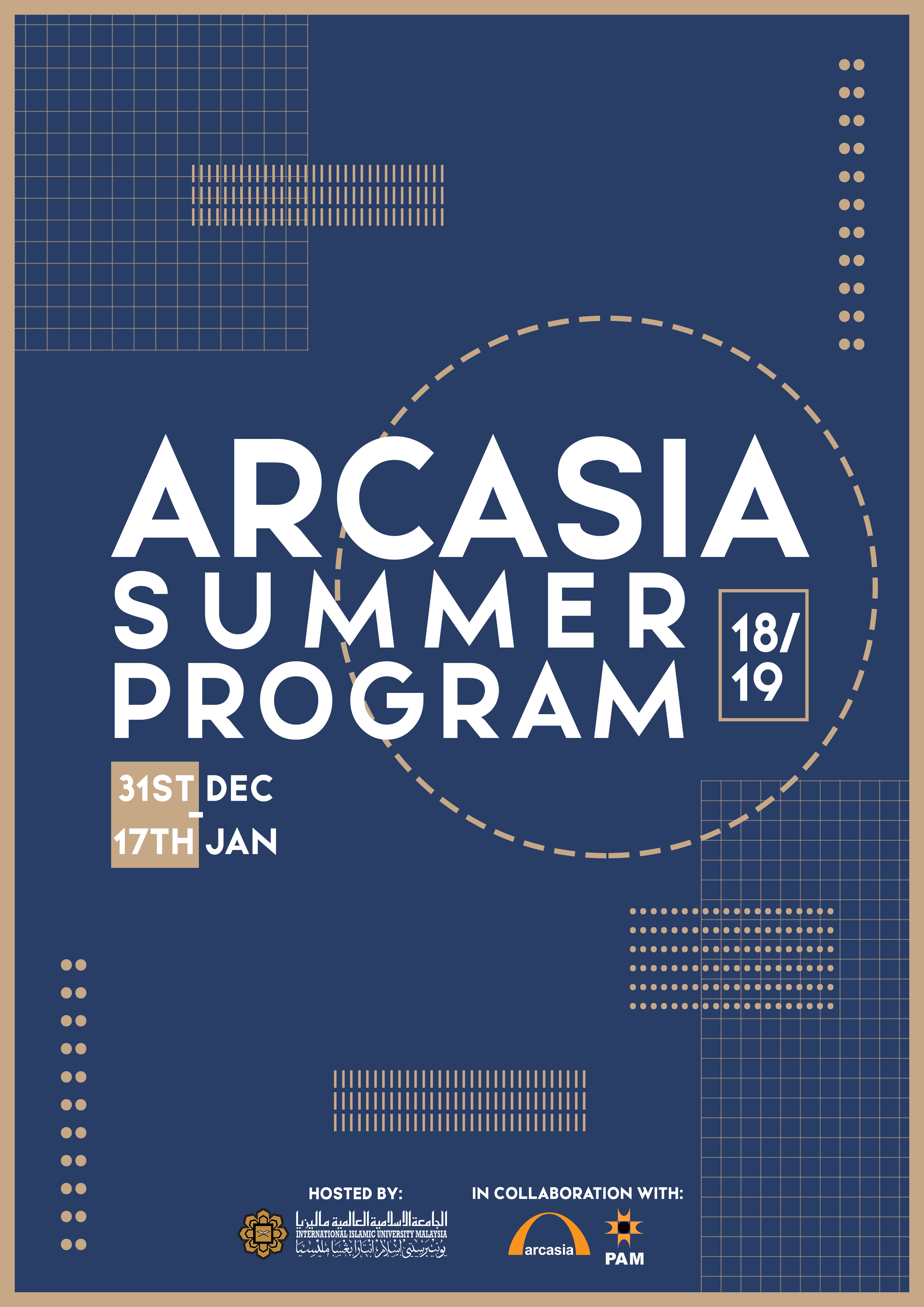 Arcasia Summer Program 18/19