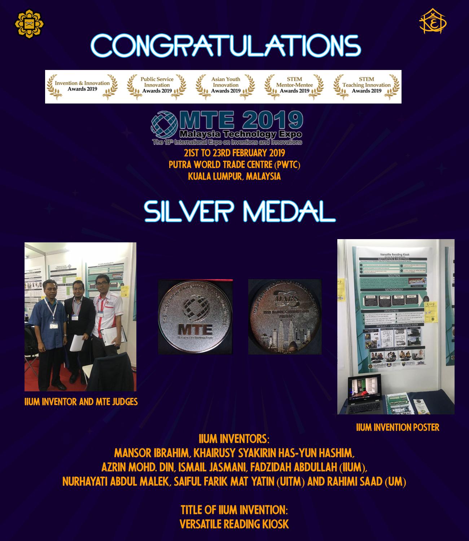 Congratulations Prof. Dato' Mansor!