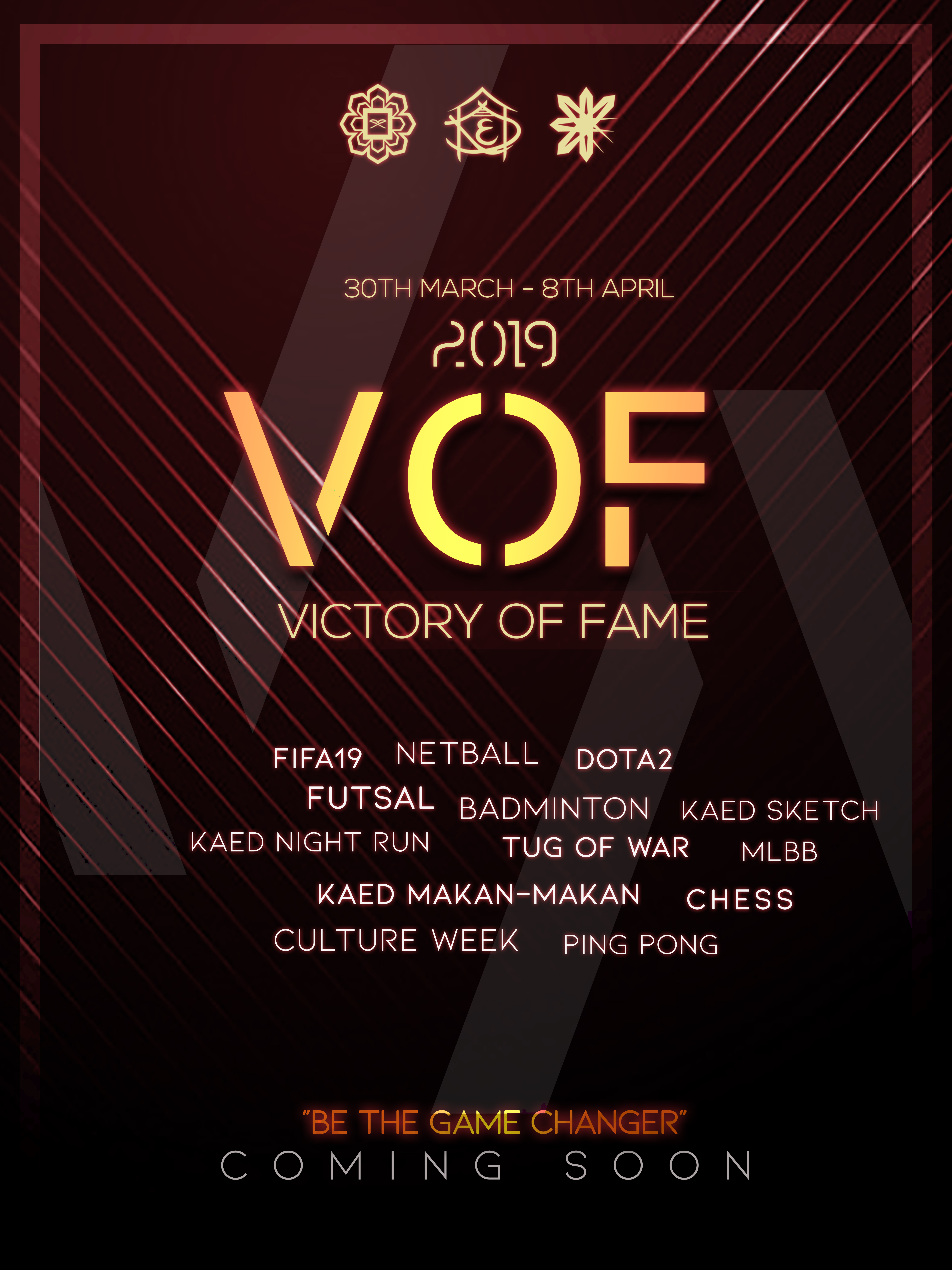 Victory of Fame 2019!