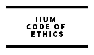 IIUM Code of Ethics