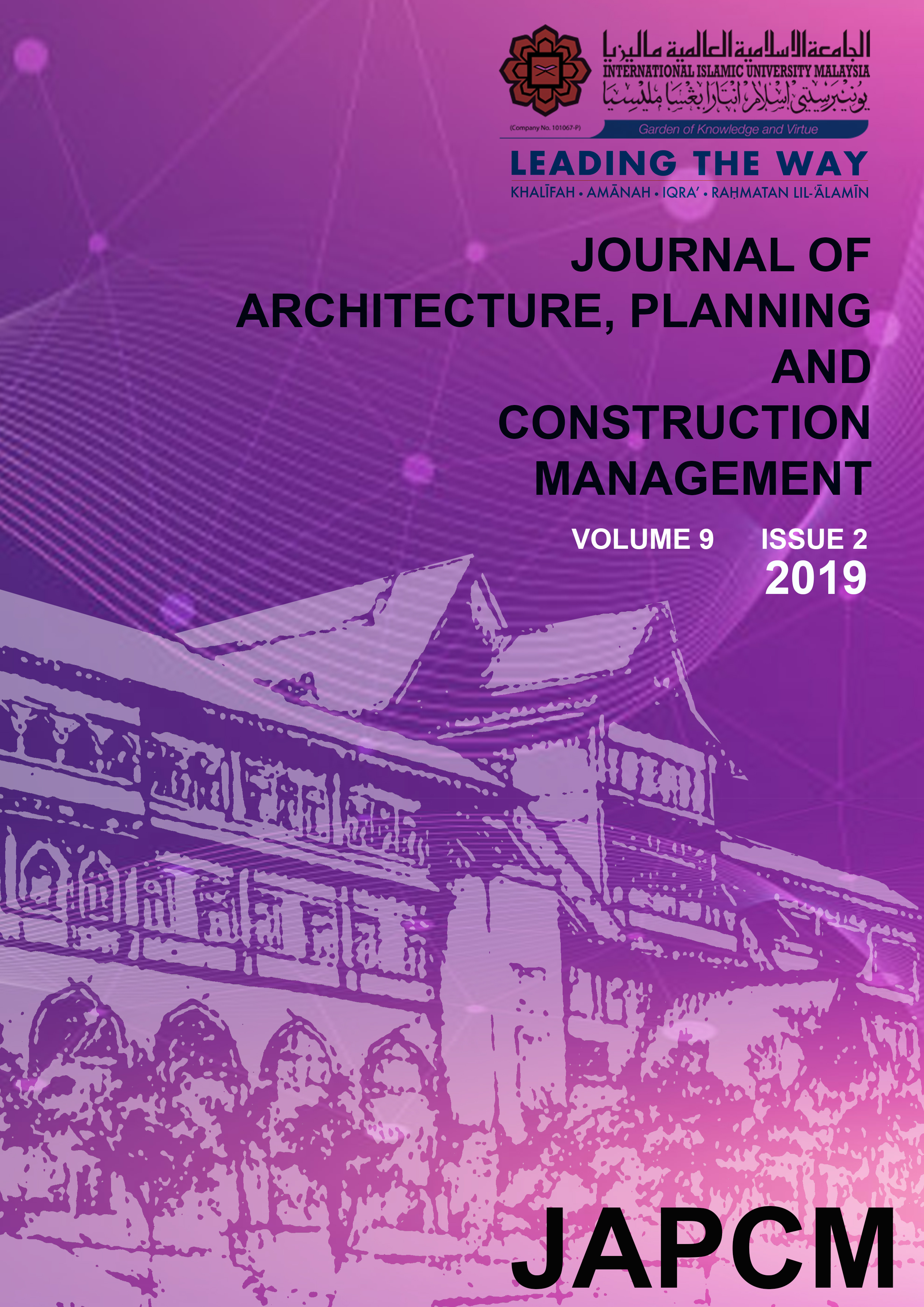 JAPCM Volume 9 Issue 2 2019 is out now!