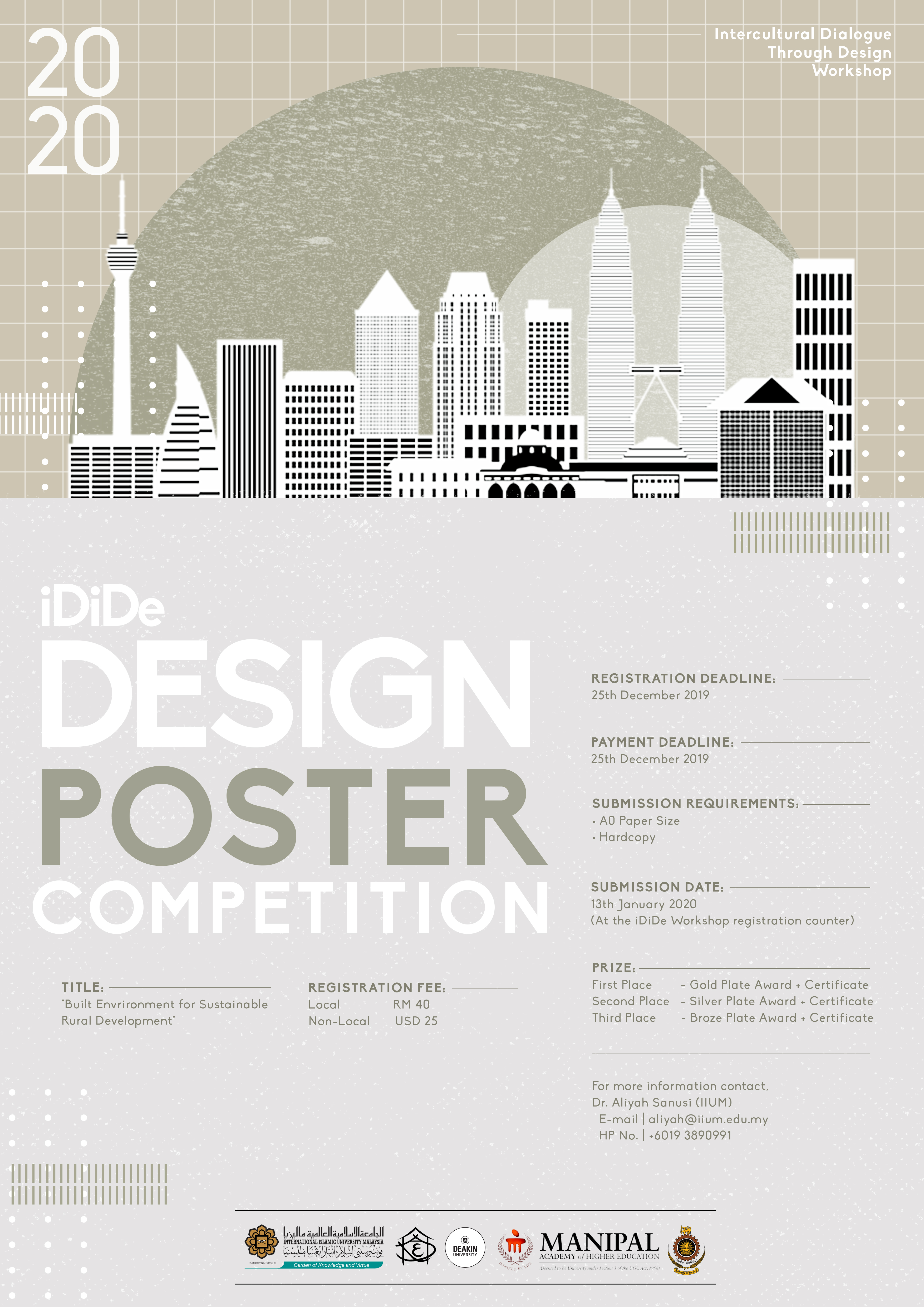 iDiDe 2020 - Design Poster Competition